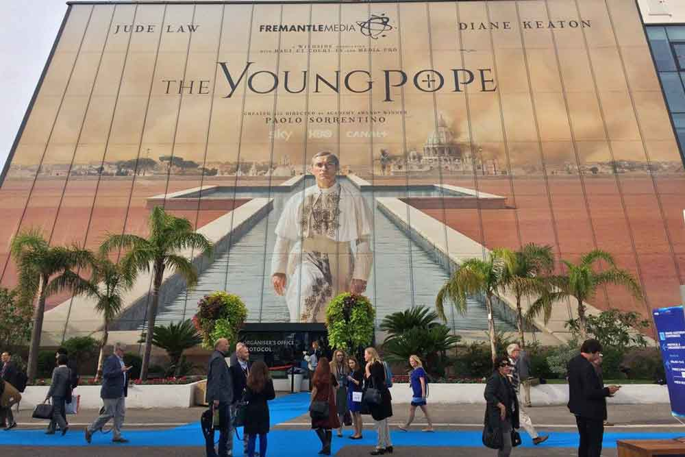 The Young Pope billboard