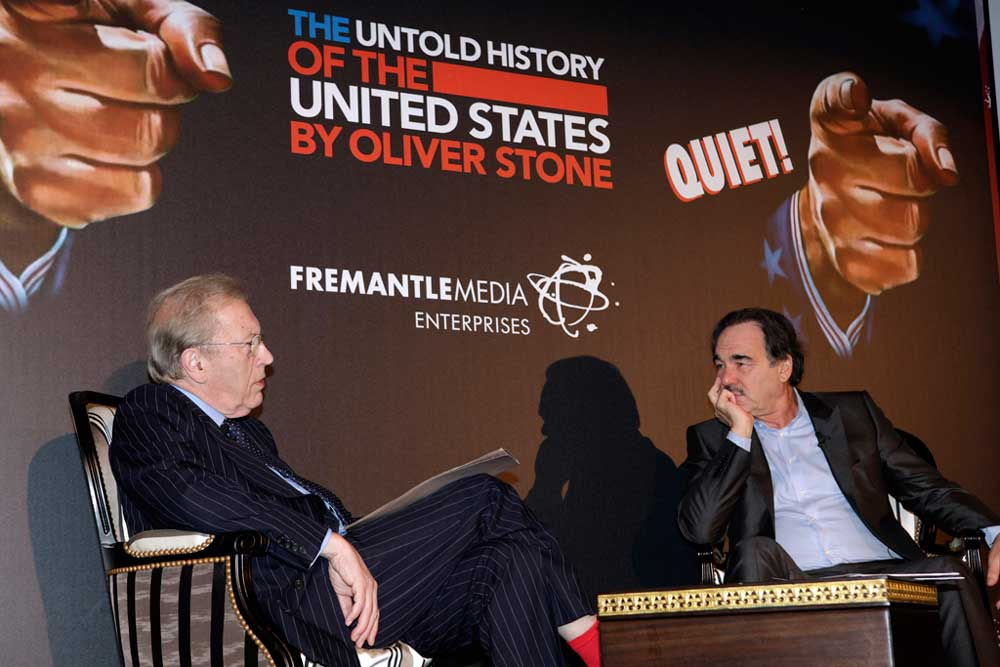 David Frost and Oliver Stons, Untold History of the United States