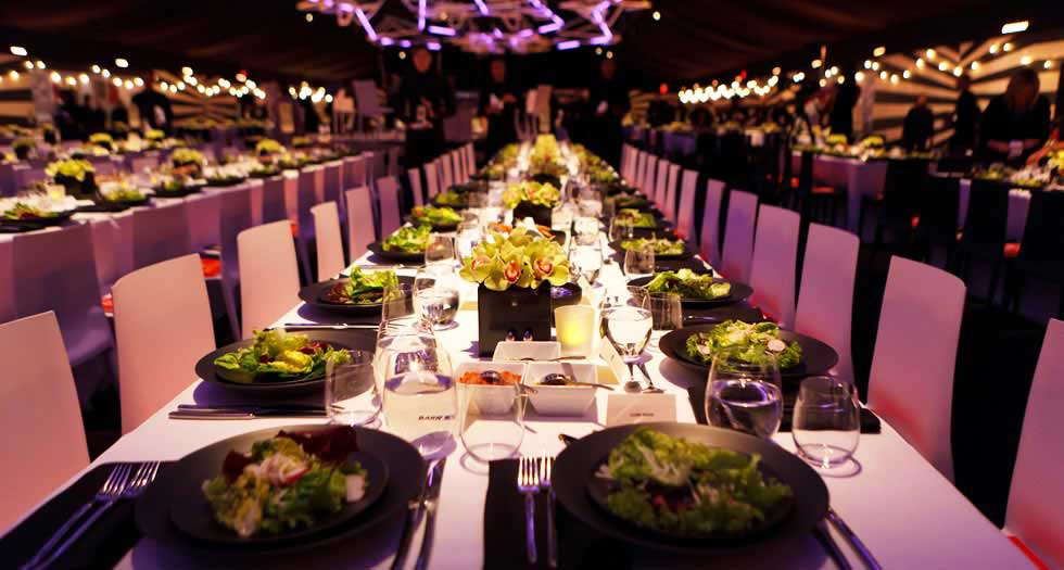 special event dining table