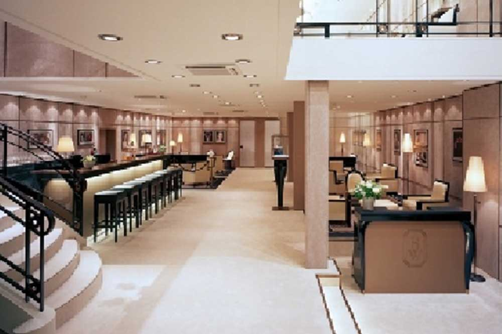 Ground floor interiors, Harry Winston 'stand' at Baselworld 2007