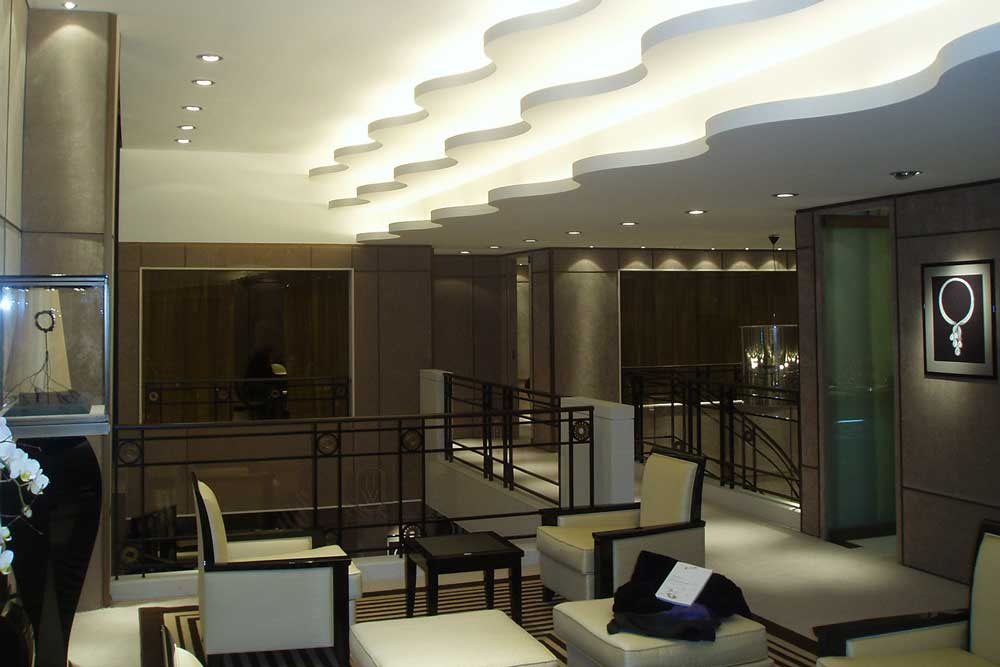 first floor interiors, Harry Winston 'stand' at Baselworld 2007