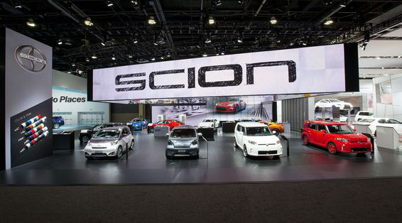 Scion at North American International Auto Show