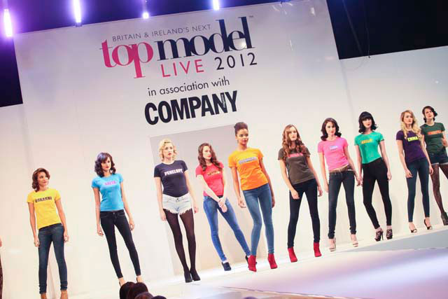 Britain & Ireland's Next Top Model Live