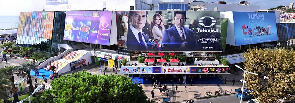 MIPCOM billboards