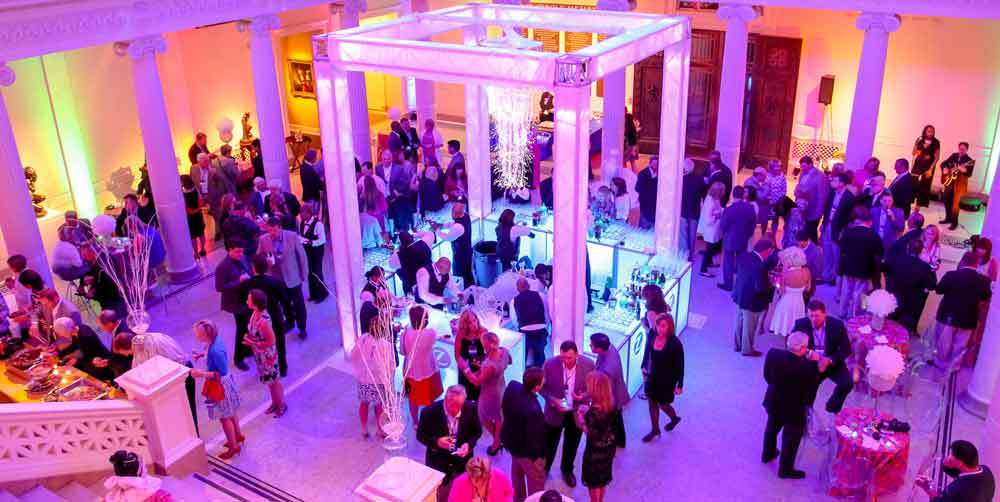 corporate event drinks reception