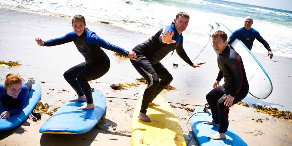 group surfing classes