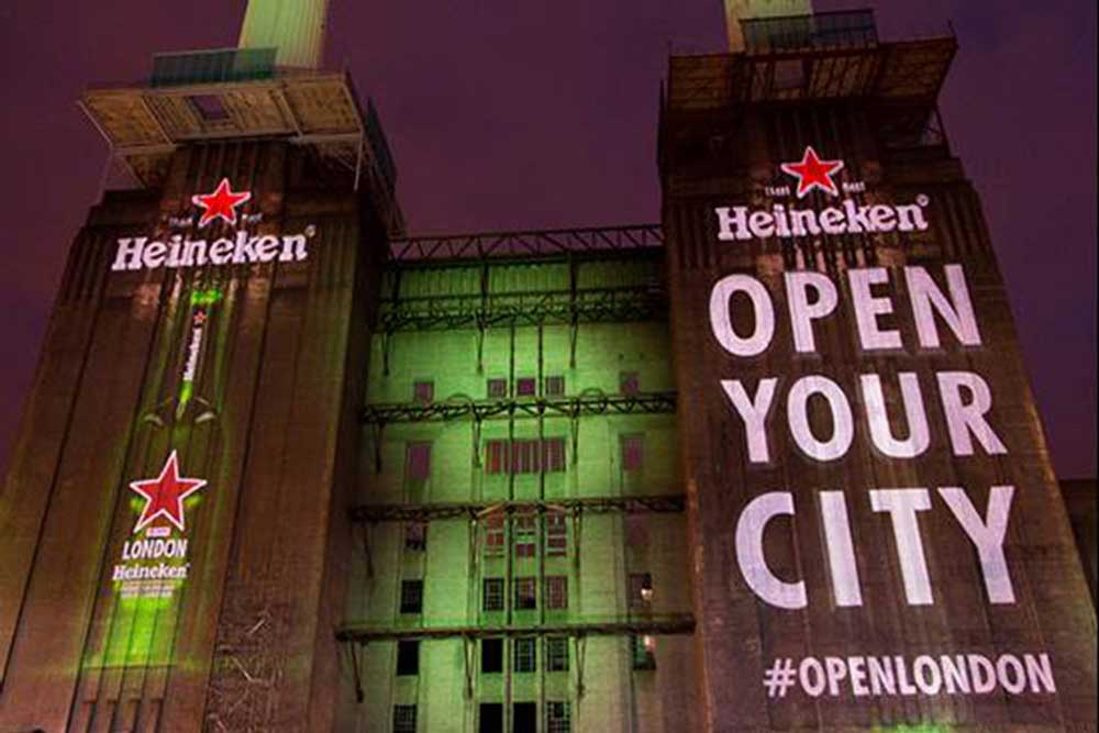 Heineken Open Your City battersea power station