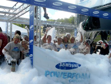 Samsung PowerFoam Challenge at Tough Mudder