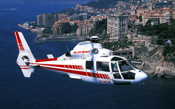 Helicopter air transfers Monaco