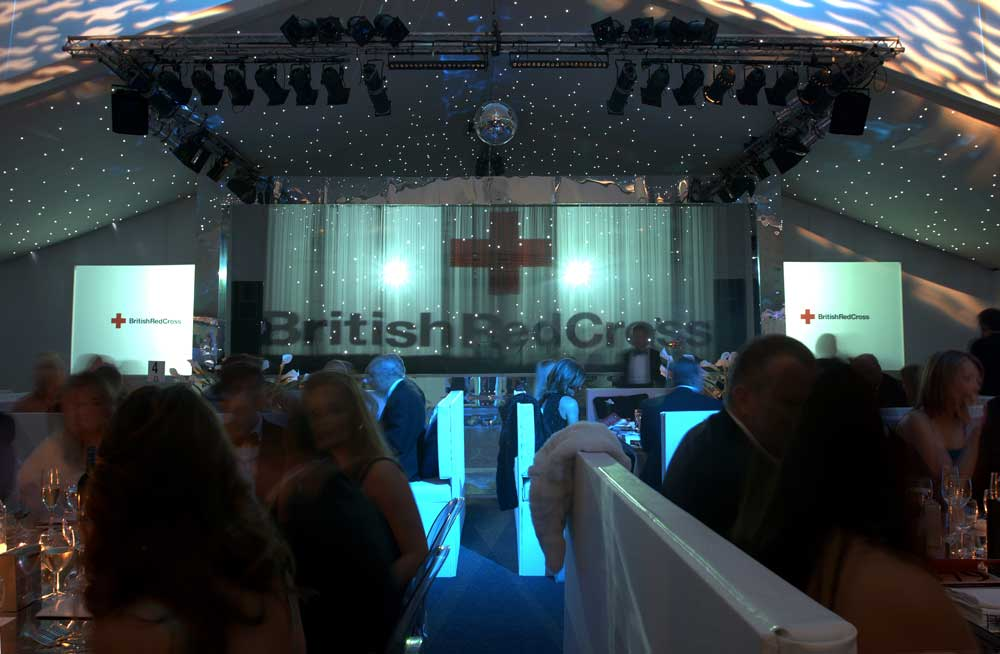 h20 for British Red Cross London Ball