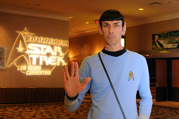 Spock cosplay at Star Trek Las Vegas Convention
