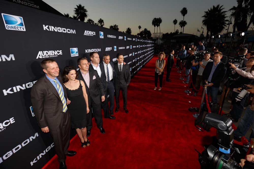 Kingdom Premiere red carpet
