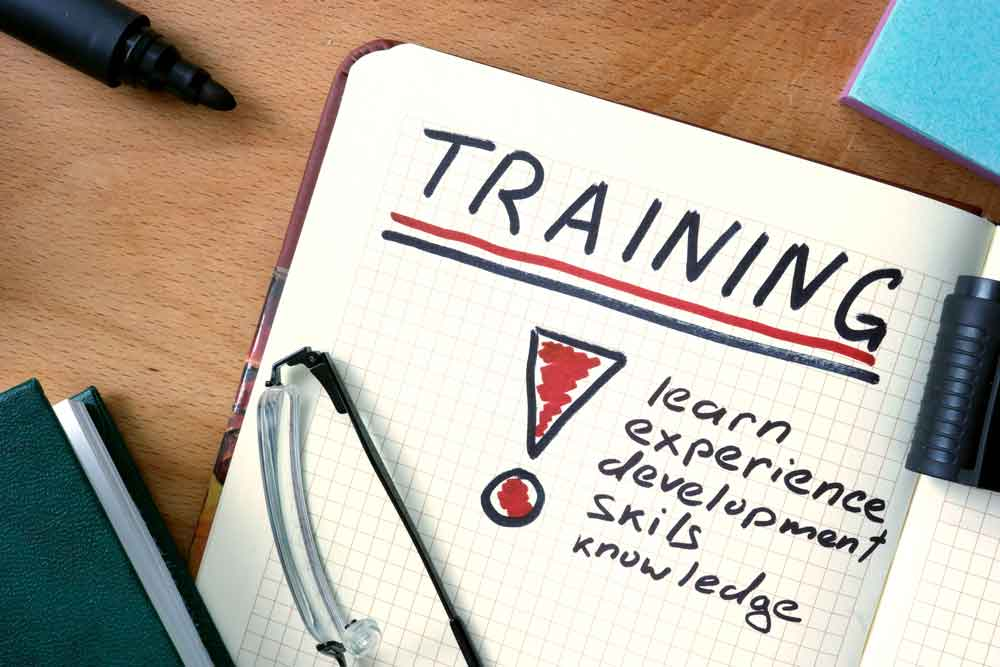 training: learn, experience, development, skills, knowledge