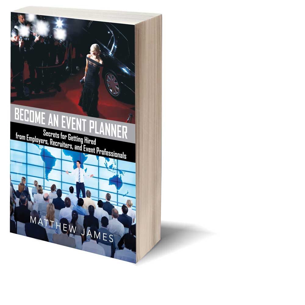 become an event planner book by matthew james
